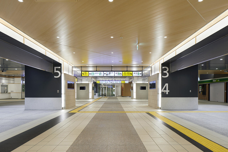 JR Niigata Station phase1