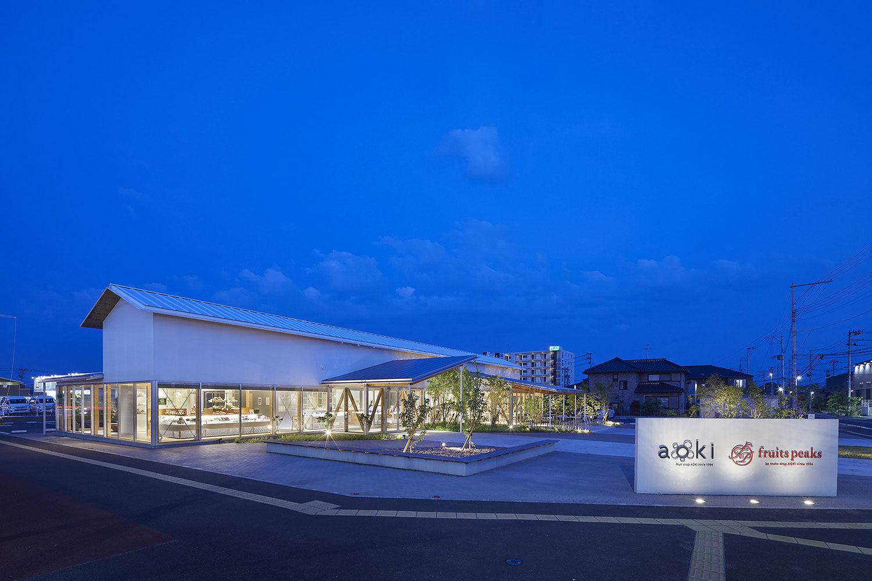 aoki / fruits peaks Sendai